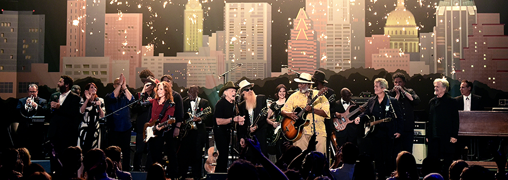 2016 ACL Hall of Fame New Year's Eve ©KLRU photo by Scott Newton