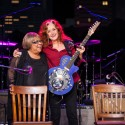 2016 ACL Hall of Fame New Year's Eve | Bonnie Raitt & Mavis Staples ©KLRU photo by Scott Newton