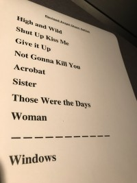 Angel Olsen Set List