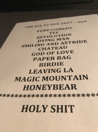Father John Misty Set List