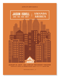 Jason Isbell and Amanda Shires by Adam Dodson