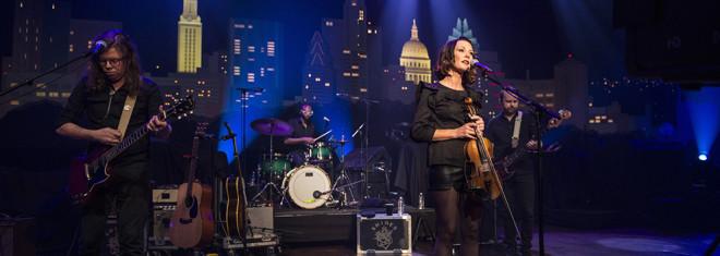 Amanda Shires on Austin City Limits ©️KLRU photo by Scott Newton