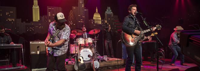 Turnpike Troubadours on Austin City Limits ©️KLRU photo by Scott Newton