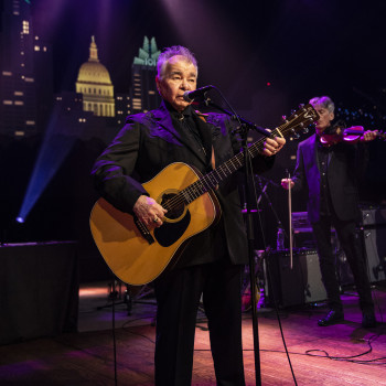 John Prine on Austin City Limits ©️KLRU photo by Scott Newton