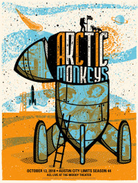 Arctic Monkeys by Andrew Vastagh aka Boss Construction