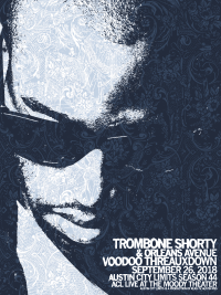 Trombone Shorty by Jared Connor