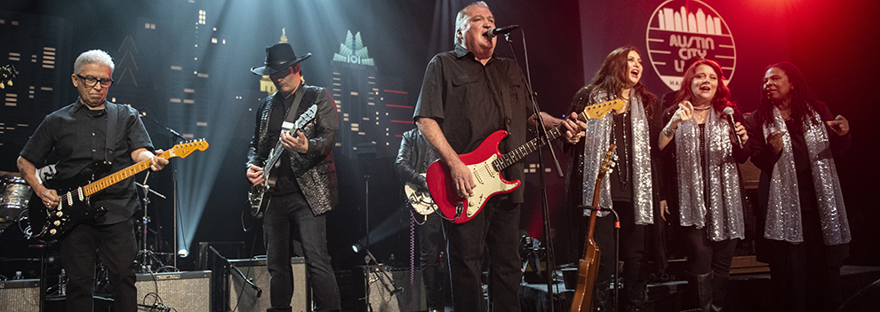 2018 Hall of Fam inductees Los Lobos and special guests ©️KLRU photo by Scott Newton