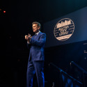 Host Chris Isaak | ACL Hall of Fame 2018 ©️KLRU photo by Scott Newton