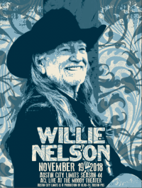 Willie Nelson & The Family Band by Jared Connor