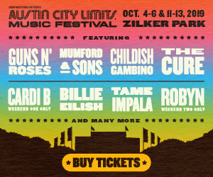 ACL Fest 2019 lineup announce