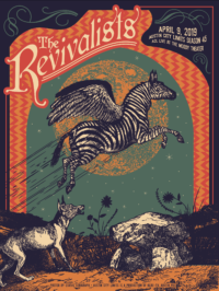 Revivalists by Justin Helton - Status Serigraph